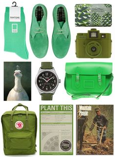 Green Gift Guide - my boyfriend would die for everything on here.
