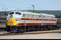 RailPictures.Net Photo: DLW 664 Delaware Lackawanna & Western EMD F3(A) at Scranton, Pennsylvania by Mike Bates