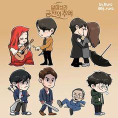 Memories of The Alhambra Korean Drama Movies, Korean Dramas, Hyun Bin, Drama Korea, Wallpaper Quotes, Cute Wallpapers, Lovers Art, Chibi, Cool Art