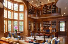 Home library room house plans ideas Home Library Rooms, Home Library Design, Home Libraries, Dream Home Design, My Dream Home, House Design, Dream Library, Library Ideas, Library Bar