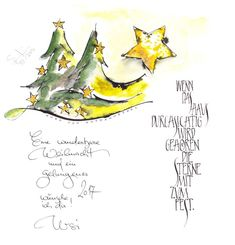 Weihnachtsbrief 2016 Source by webermaienried Christmas Morning, Christmas 2016, Christmas Art, Christmas Presents, Calligraphy Course, Caligraphy, Christmas Tumblr, Watercolor Christmas Cards, Craft Day