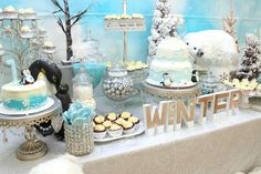 Winter Onederland Birthday Party Ideas | Photo 4 of 30