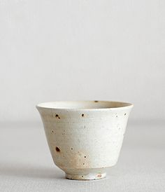 shinji hidaka ash glaze cup.