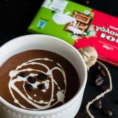 Ζεστή Σοκολάτα με Στέβια και Καφέ - ION Sweets