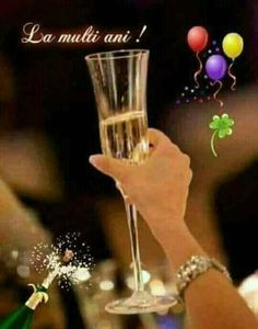 Hurricane Glass, Decoration, Flute, Shot Glass, Flower Arrangements, Anul Nou, Champagne, Merry Christmas, Happy Birthday