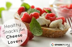 10 Healthy Snacks for Cheese Lovers