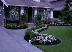 66 Awesome Front Yard Pathway Landscaping Ideas