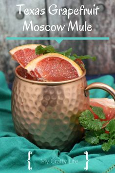 Texas Grapefruit Moscow Mule - Refreshing, citrus-y twist on an old favorite.