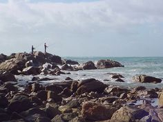 Albany in Western Australia is a gorgeous part of the country. I spotted this fishermen on one of my Albany trips.