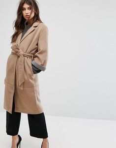 Get this Y.a.s's basic coat now! Click for more details. Worldwide shipping. Y.A.S Belted 3/4 Sleeve Coat - Tan: Coat by Y.A.S., Textured wool-mix fabric, Notch lapel, Belted waist, Press stud placket, Functional pockets, Regular fit - true to size, Specialist dry clean, 90% Polyester, 10% Wool, Our model wears a UK S/EU S/US XS and is 175cm/5'9 tall. Putting a clean twist on everyday essentials, Danish label Y.A.S. packs its understated-cool style into dresses, premium leather and tailored…
