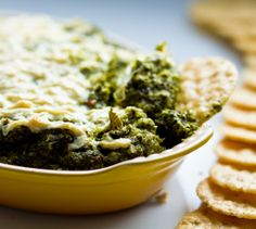 "Can a ""Vegan Spinach Dip"" recipe still be creamy, chunky, dippable and party-worthy? Oh yes it can..."
