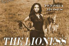 Teedra Moses Aka The Lioness