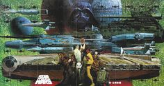Godzilla Noriyoshi Ohrai   Noriyoshi Ohrai - Star Wars illustrations
