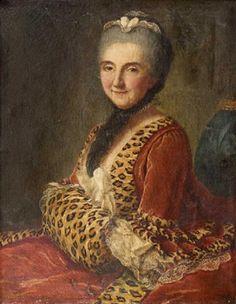 Portrait présumée de la comtesse de Blois, Marianne Loir (français, 1715 - 1769)