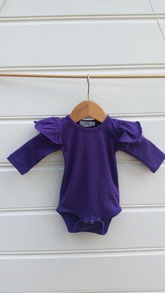 c418793f40e3 Long Sleeve Tulle Flutter Sleeves Violet Flutter Sleeve