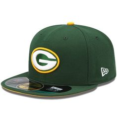 Green Bay Packers New Era 59fifty Official On Field Fitted Hat New Green 7 1/4 from $34.99