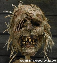 Plague - scarecrow totem head