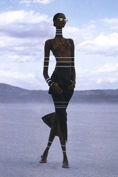 Beverly Peele by: Gilles Bensimon. More inspiration over at www.breakfastwithaudrey.com.au