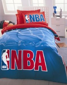 Amazon Com Nba Boutique Amazing Bedding Set For Kids Boys Fans Home Basketball