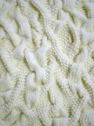 Image result for avant garde aran sweaters with oversized cable patterns