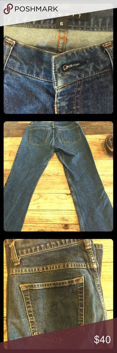 "Theory stretch denim jeans Comfortable and very flattering. Rise 9"" leg 28"" Theory Jeans"