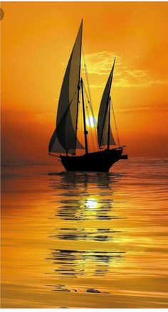 Wallpaper of boat & yacht sailing at ocean and sea Sunset Photography, Landscape Photography, Photography Tips, Wedding Photography, Image Nature, Boat Art, Ocean Sunset, Hawaiian Sunset, Beautiful Sunset
