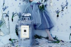 Jo Malone - expensive but worth it and the advertising is always so beautiful, just like the shops