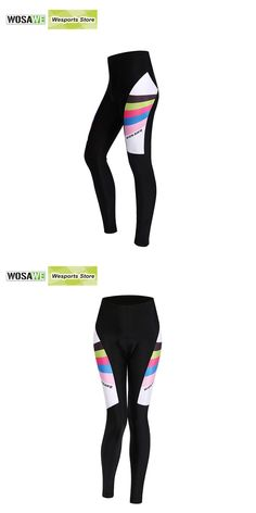Visit to Buy  WOSAWE New Women Cycling Pants 3D Gel Padded Mountain Bike  Riding 1bf348d12
