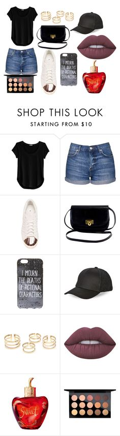 """""""Going out Outfit"""" by kamilarr03 on Polyvore featuring moda, Cosabella, Topshop, adidas, BCBGeneration, Lime Crime, Lolita Lempicka y MAC Cosmetics"""