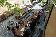 Pilsener Haus Patio Austro Hungarian, Best Dining, Pop Up, Scene, Exterior, Outdoor, Life, Germany, Inspiration