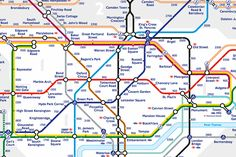 London Underground's New Map Shows How Many Steps It Takes To Walk Between…