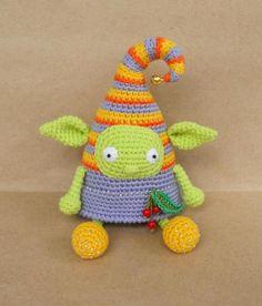 Crochet elf doll amigurumi pattern free