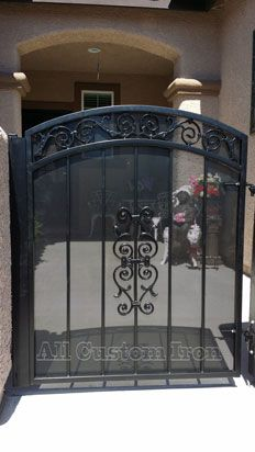 This Is A Small Single Gate From All Custom Iron Http Www