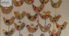 Kalevalapäivän lintuja 2D-luokasta (ope: Meri Lintu)     Kanteleita hauen leukaluista 4B-luokasta (ope:M... Crafts For Kids, Arts And Crafts, World Thinking Day, Bird Crafts, Textile Fabrics, Animals For Kids, Christmas Ornaments, Holiday Decor, Projects