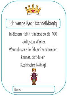 Rechtschreitraining 100 Wörter – Rechtschreibkönig - grundschulteacher-shop