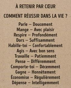 L'image contient peut-être : texte - French Phrases, French Words, French Quotes, French Language Lessons, French Lessons, Positive Words, Positive Attitude, French Expressions, Burn Out