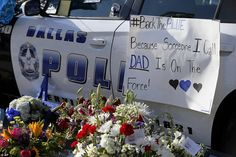 'Back the Blue' has become a popular phrase to show support for police officers in the aftermath of the shooting