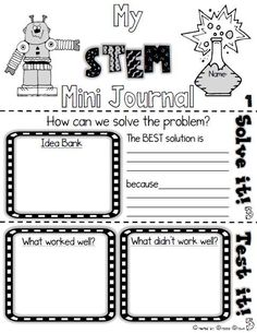 FREE STEM Mini Journ
