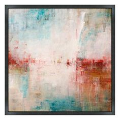 Christopher Peter Light Allure 1 Blue and Red Original Art