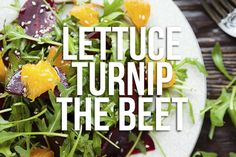 What'd the vegetables say to get the party started? | 13 Food Puns That'll Totally Hit The Spot