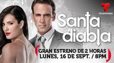 """Estreno de """"Santa  Diabla"""" en Telemundo Puerto Rico el 16 de septiembre"""