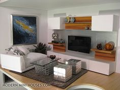 Modern Mini Houses.com Featuring PRD miniature designs