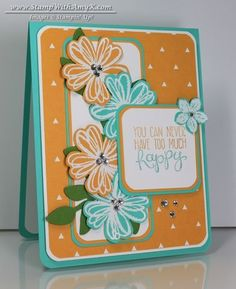 Flower Shop - Stampin' Up! - Stamp With Amy K | Crazy for ...