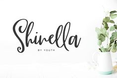 Shinella by Youth on @creativemarket