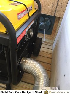 Curriculum Home Printing Sculpture Innovation Generator Shed, Emergency Generator, Portable Generator, Power Generator, Honda Generator, Emergency Power, Emergency Preparedness, Generator Transfer Switch, Man Cave Diy