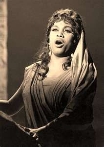 Leontyne Price - The legendary American Soprano. Born and raised in the Deep South, she rose to international acclaim in the 1950s and 1960s, and was one of the first African Americans to become a leading artist at the Metropolitan Opera.
