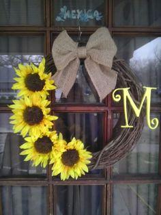 another idea Summer/Late Summer wreath