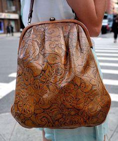 Brown handbag collection