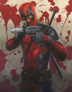 ArtStation - Deadpool , Samuel Shin