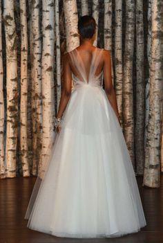 Naeem Kahn . . . . . The 29 dreamiest dresses from bridal fashion week spring 2015